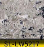 Pietra di marmo grigia del quarzo di sguardo 20mm