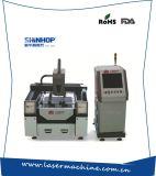 De automatische CNC Scherpe Machine van de Laser van de Vezel van Co2 Plastic voor Metaal
