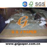 papel transparente del abrigo 28GSM para el envasado de alimentos
