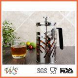 Pressa calda del caffè di vendita del creatore di caffè della pressa del francese dell'acciaio inossidabile Wschxx030