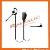 G Shape Earhook écouteur pour Motorola Gp300