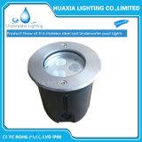 acero 316stainless Bulit-en luces subacuáticas del LED