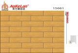 azulejo de madera de cerámica esmaltado rústico de 150X600m m para el comedor