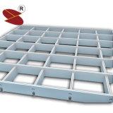 Revêtement en poudre de gros de la Chine à la mode grille suspendue au plafond en aluminium de matériaux de construction