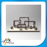 Handgemachte hölzerne materielle Acrylbildschirmanzeige-intelligenter Uhr-Standplatz