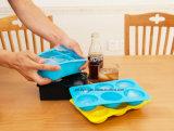 Food Grade Promocional Silicone Ice Mould, bandeja de gelo de silicone