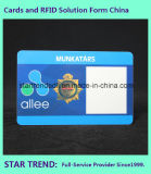 Cartão de impressão em quatro cores para guarda de segurança