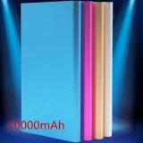 Mi Batería Li-ion metálico del Banco de potencia con luz LED 10000mAh alimentación