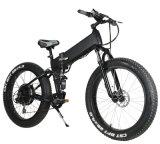 grasa gorda eléctrica de la bicicleta de 48V 500W con Suspention lleno
