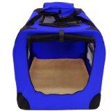 Embalaje ligero del portador del animal doméstico de la tela con la bolsa del animal doméstico de la estera del paño grueso y suave