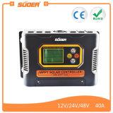 Suoer 12V 24V 48V 40A Contrôleur de charge solaire MPPT (FILS-MPPT-40A)