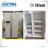 Refrigerador BRITÂNICO do plugue com o refrigerador 550liters