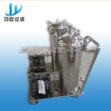 Двухшпиндельный фильтр мешка параллельного соединения для фильтруя питьевой воды/минеральной вода