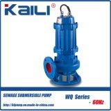 6Hz WQ Não-Obstruem a bomba de água submergível da água de esgoto