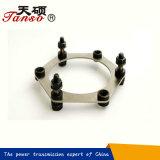 Matériau simple d'acier de couplage de disque de fournisseur de la Chine