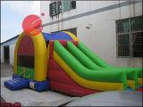 2017膨脹可能なおもちゃの子供(T3221)のための跳躍のMoonwalkの弾力がある城