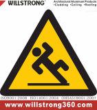 Signes en aluminium d'Acm de matière composite de signe de sûreté