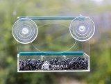 Crystal Clear Acrylic Window Bird Feeder Clear Window