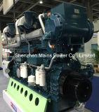 1400HP 1000rpm Yuchaiの海洋のディーゼル機関手前側にある海洋モーター