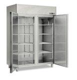 Congelatore di frigorifero di vetro della visualizzazione della cucina del portello dell'acciaio inossidabile