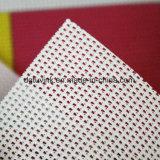 Gewebe-Entwurf Belüftung-Vinylmaterieller Einweganblick durchlöcherte Flexineinander greifen-Fahne windundurchlässig