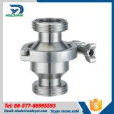 Válvula de retenção sanitária higienica de aço inoxidável
