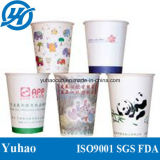 Бумажные стаканчики печати PE стены цены по прейскуранту завода-изготовителя двойные для напитка