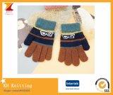 Handschoenen van de Jongen van de Jacquard van Particolored de Warme