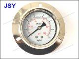 플랜지를 가진 Og-023 기름 충전물 압력 계기