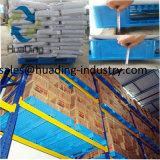 De Gerecycleerde Materiële Op zwaar werk berekende Plastic Pallet van de lage Prijs HDPE