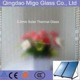 vetro temperato di 3.2mm usato per il collettore solare del riscaldatore di acqua di FPC