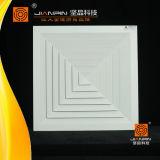 Heißer Verkaufs-quadratischer Decken-Luft-Aluminiumdiffuser (Zerstäuber) mit Basisrecheneinheits-Dämpfer
