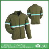 Jaqueta de lã com peso médio para homens de inverno