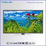 最新のデザイン狭いところの斜面1080P 2kスマートな人間の特徴をもつWiFi TV LED