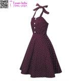 платье L36194 сбор винограда 1950s без бретелек