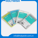 Heißer transparenter Karten-Abzeichen-Unisexhalter mit Abzuglinien