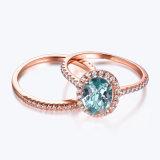 Aggancio del Aquamarine che impila l'insieme dell'anello