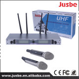 UHF 2 canaux Super-Cardioid Wireless Conference Karaoke Auditorium Microphone