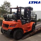 Carrello elevatore idraulico di tonnellata GPL del carrello elevatore 6 con il motore potente