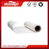 Papel de transferencia de sublimación 77GSM para impresión textil basada en poliéster