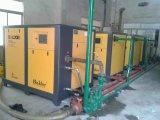 compresor de aire rotatorio del tornillo de la velocidad fija de 100HP 75kw