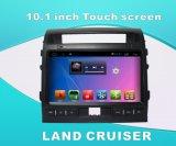 土地の巡洋艦のための人間の特徴をもつシステム車DVD GPS/Bluetooth/TV/MP3/MP4の10.1インチのタッチ画面