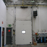 Porte sectionnelle électrique résidentielle de garage