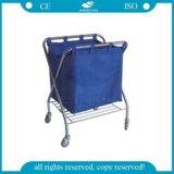 AG Ss023 스테인리스 병원 세탁물 트롤리