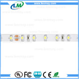 Luz de tiras flexible de la lista de 24VDC SMD3528 LED con el CE RoHS