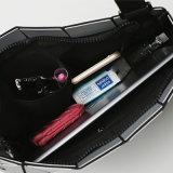전자총 색깔 마름모꼴 기하학적인 PU 어깨에 매는 가방 (A074-2)