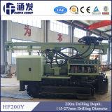 Hf200y plein hydraulique sur chenilles d'équipement de forage de puits