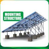 солнечная система 10kw на установке крыши и земли решетки