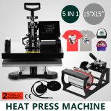 """Nuova copertura superiore 15 """" macchina di Digitahi di sublimazione della maglietta della pressa di scambio di calore di X 15 """" (38 x 38cm)"""