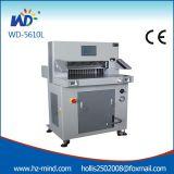 De professionele de programma-Controle van de Fabrikant (wd-5610L) Hydraulische Scherpe Machine van het Document
